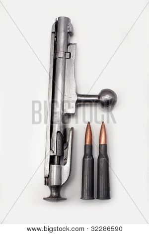 Mosin-nagant Bolt Action With Shells (2)