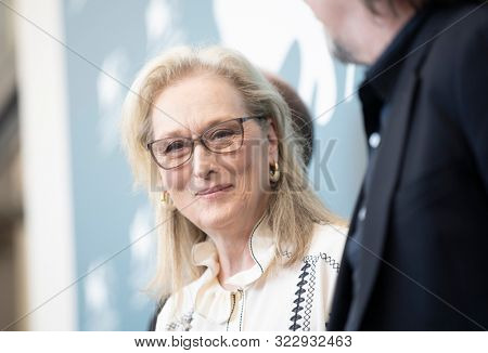 Meryl Streep attends 'The Laundromat' photocall during the 76th Venice Film Festival at Sala Grande on September 01, 2019 in Venice, Italy.