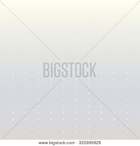 Pale Gray Background With White Dots. Vector Modern Background For Posters, Brochures, Sites, Web, C