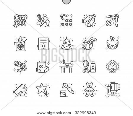 Digital Crafts Well-crafted Pixel Perfect Vector Thin Line Icons 30 2x Grid For Web Graphics And App