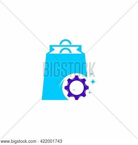 Gear Shop Logo Designs Concept Vector, Mechanic Gear Logo Template