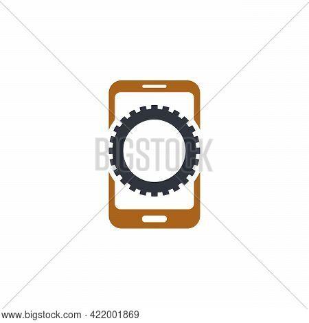 Phone Service Logo Designs, Phone Gear Logo Template