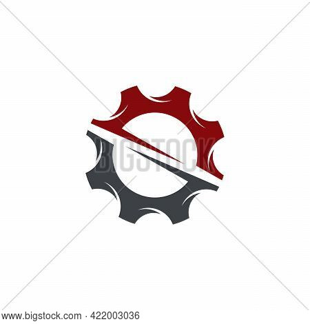 System Technology Logo Designs Vector, Gear Logo Template