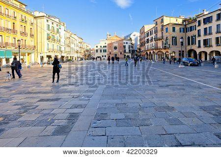 Piazza Dei Signori And Church Of San Clemente In Bologna