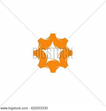 Planet Service Logo Designs Template, Planet Gear Logo Vector Designs, Mechanic Engineering Logo