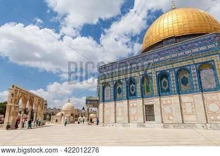 Nice View Of Dome Of The Rock