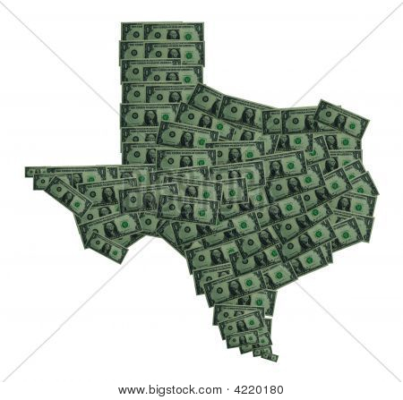 Texas Dollar Outline