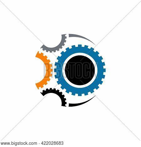 Gear Logo Designs Template Vector, Mechanic Logo Symbol, Logo Symbol Icon Template