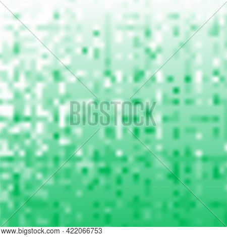Bacteria, Fungus Mould Or Yeast Texture Concept In Green Color For Background