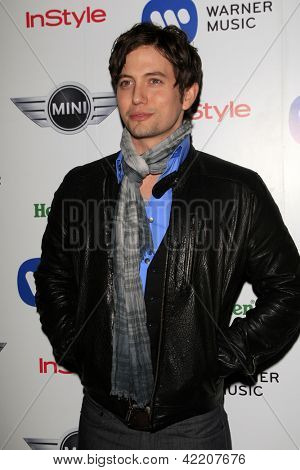 LOS ANGELES - FEB 10:  Jackson Rathbone arrives at the Warner Music Group post Grammy party at the Chateau Marmont  on February 10, 2013 in Los Angeles, CA..