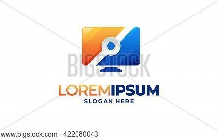 Computer Technology Logo Template Designs, Computer Service Logo Template Designs