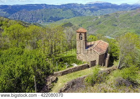 Church Of The Mother Of God Of The Snows Of Irgo De Tor Belonging To The Term Of Pont De Suert. Vall