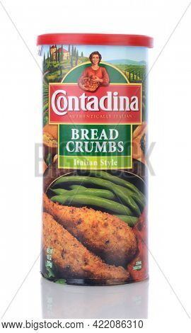 IRVINE, CA - February 06, 2013: A box Contadina Bread Crumbs. The word Contadina is Italian for woman of the fields