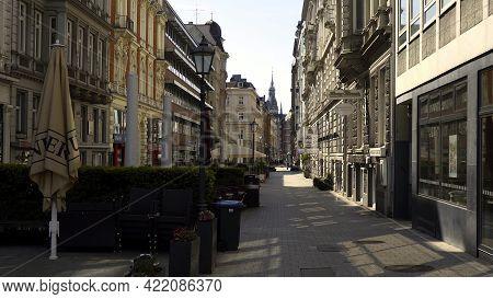 Colonades In Hamburg - City Of Hamburg, Germany - May 10, 2021