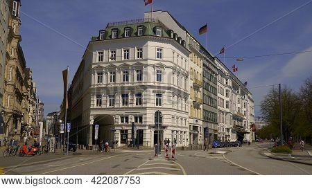 Beautiful Mansions In The City Of Hamburg - Hamburg, Germany - May 10, 2021