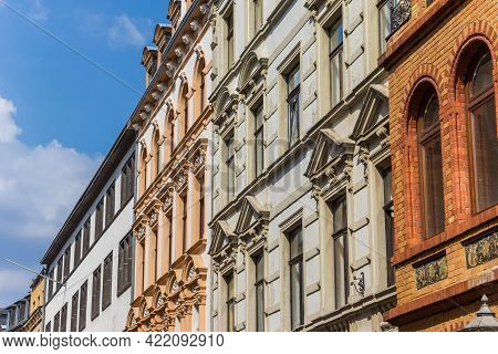 Facades Of Historic Houses In Koblenz, Germany