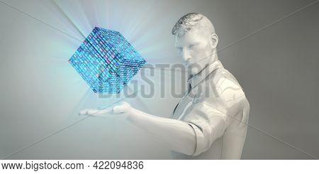 Future of Multimedia Entertainment Content Technologies Trending Concept 3d Render