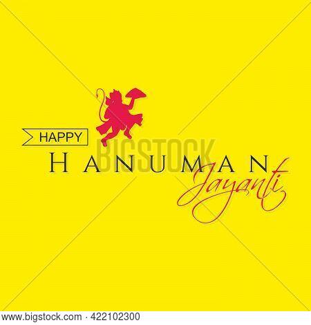Happy Hanuman Jayanti Template. Hanuman Jayanti Banner