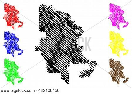 Beaumont City, Texas (united States Cities, United States Of America, Usa City) Map Vector Illustrat