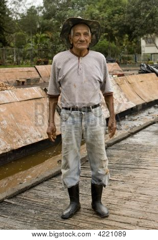 Cocoa Bean Worker