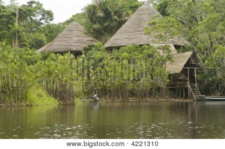 Lodge In The Ecuadorian Amazon