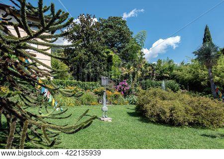 André Heller Botanical Garden. Gardone Riviera (bs), Italy - August 25, 2020
