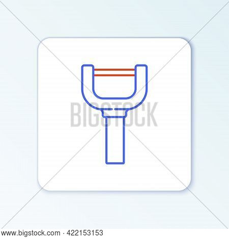 Line Peeler Icon Isolated On White Background. Knife For Cleaning Of Vegetables. Kitchen Item, Appli