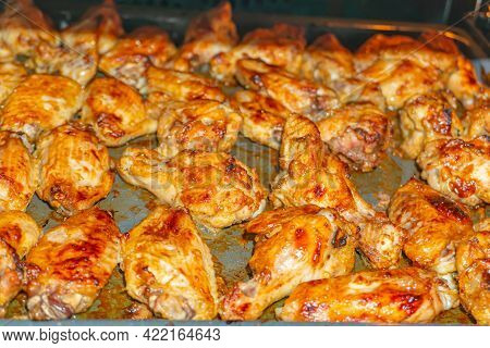 Oven Fried Chicken Wings, Bbq Grilled Chicken Wings