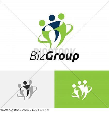 Business Group Team Partner Office Work Logo Symbol