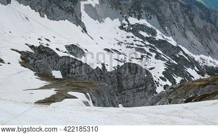 Panoramic View From The Peak Of Monte Terminillo In Lazio