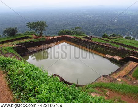 Sigiriya, Sri Lanka - 06 Jan 2011: Ancient Ruins, Sigiriya, Sri Lanka