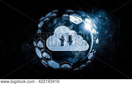 Cloud Computing Technology And Online Data Storage In Innovative Perception . Cloud Server Data Stor