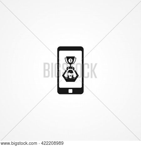 Ar Game Simple Isolated Vector Icon. Ar Game Simple Isolated Vector Icon. Ar Game Simple Isolated Ve