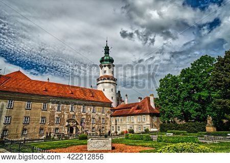 Czech Republic Historical Palace In