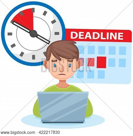 Missing Deadline, Bad Time Management. Work In High Stress Conditions And Under Hard Boss Pressure.