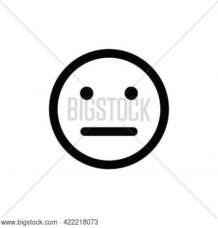 Neutral Icon Isolated On White Background. Neutral Icon In Trendy Design Style For Web Site And Mobi