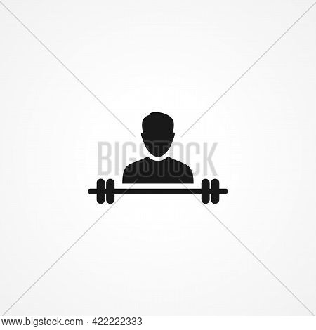 Sport Simple Isolated Vector Icon. Sport Simple Isolated Vector Icon. Sport Simple Isolated Vector I