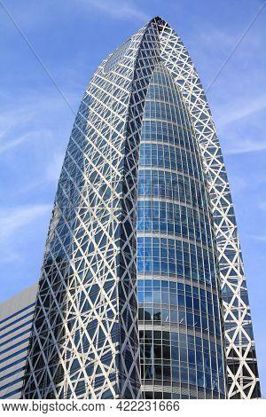 Tokyo, Japan - May 11, 2012: Mode Gakuen Cocoon Tower In Shinjuku, Tokyo. It Houses Tokyo Mode Gakue