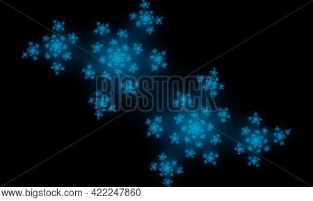 Fractal Is A Subset Of Euclidean Space With A Fractal Dimension That Strictly Exceeds Its Topologica