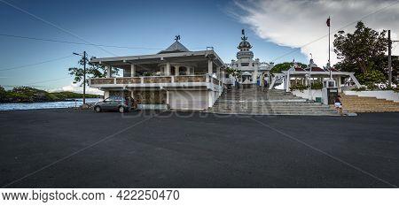 Poste De Flacq, Mauritius, December 2015 - Sagar Shiv Mandir Temple, Dedicated To Hindu Deities Is A