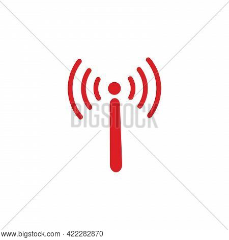 Wi Fi Icon, Wireless Icon. Wi Fi Signal Sign Modern Web Icon. Wi Fi Network Icon.