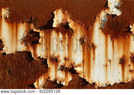 Metal Abstract Texture. Surface Grunge Backdrop. Dirty Effect Pattern. Material Background. Graphic