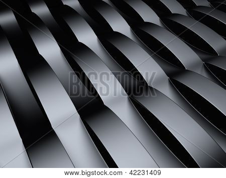 Industrial Metallic Background .