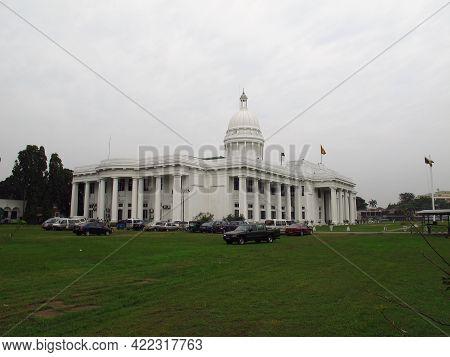 Colombo, Sri Lanka - 12 Jan 2011: Colombo Municipal Council, Sri Lanka