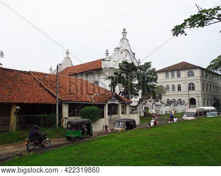 Galle, Sri Lanka - 10 Jan 2011: Dutch Reformed Church In Galle, Sri Lanka