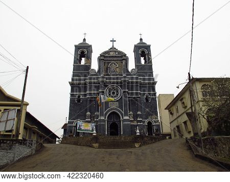 Galle, Sri Lanka - 10 Jan 2011: Saint Mary's Church In Galle, Sri Lanka