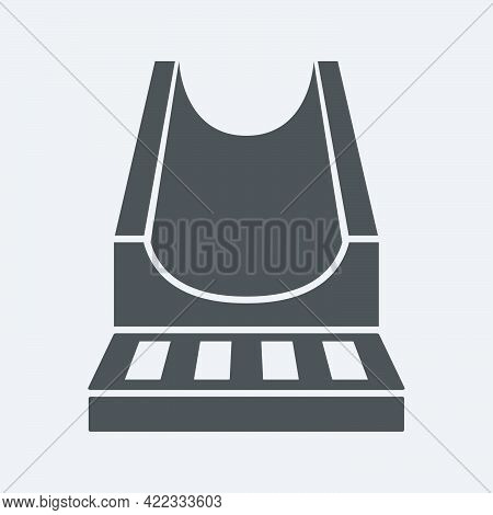 Road Drain System Icon In Flat Style Isolated On White Background.vector Illustration.