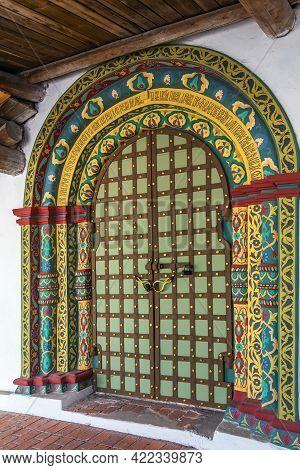 Pechersky Ascension Monastery, Nizhny Novgorod, Russia. Portal