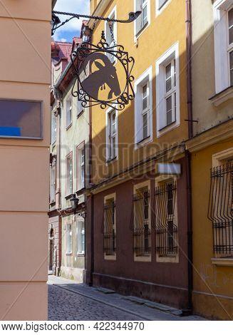 Poznan. Market Square On A Sunny Day.