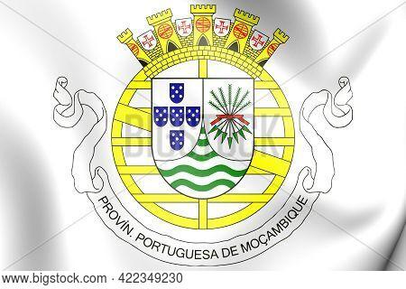 3d Portuguese East Africa Coat Of Arms (1951-1975). 3d Illustration.